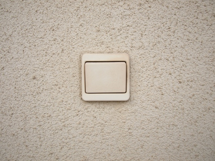 Biele vypínače
